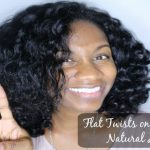 Flat Twistout on Flat Ironed Natural Hair ft. Camille Rose Naturals