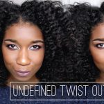Fluffy UNDEFINED Twist Out + Refresher [Video]