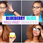 FRIZZ-FREE Summer Braidout | Curls BLUEBERRY BLISS [video]