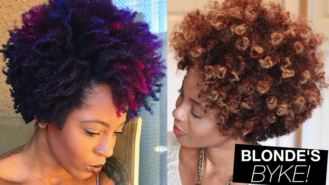 Growing Out Natural Hair Color