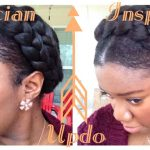 Greek Goddess Crown Braid Tutorial (Protective Style) [Video]