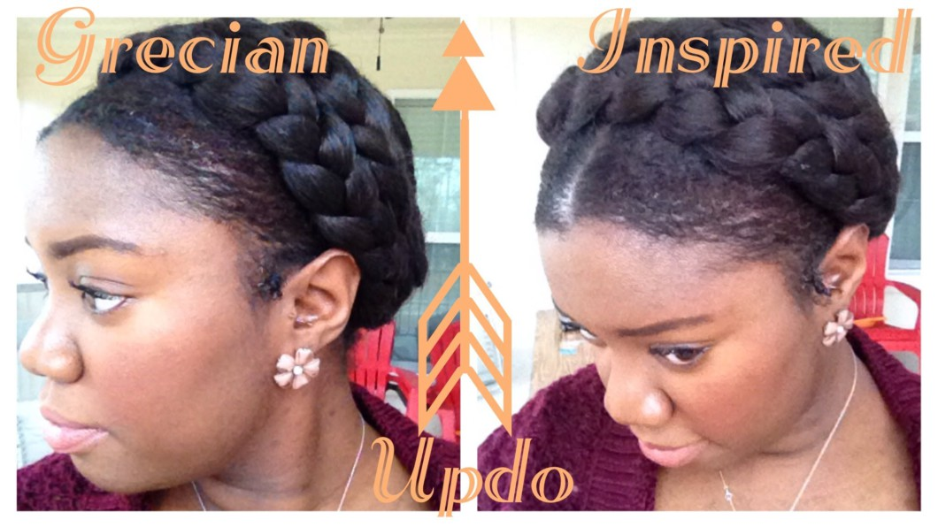 Greek Goddess Crown Braid Tutorial (Protective Style) Video - Black Hair Information