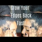 Hair | Grow Out Your Edges & Bald Spots FAST! [Video]