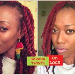Havana Twist On Locs Tutorial [Video]