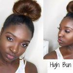 High Bun Tutorial | Straight Hair