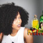 Hot Oil Treatment For Frizzy And Dry Natural Hair [Video]