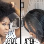 How I Straighten My Natural Hair | Start To Finish! [Video]