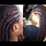 HOW TO: Big Cornrow Braids [Video]