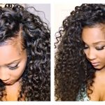 How To Blend Your Hair With Big Curly Extensions