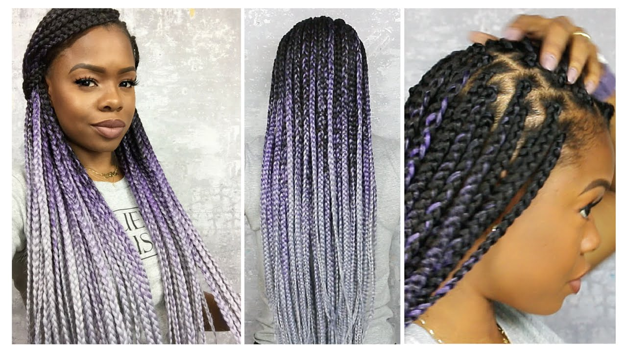 How To Do A Bow With Box Braids