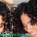 How to Cheat A Bantu Knot Out Via Perm Rods [Video]