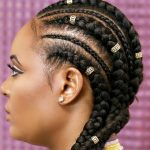 HOW TO CORNROW WITH EXTENSIONS : FEED IN BRAIDS