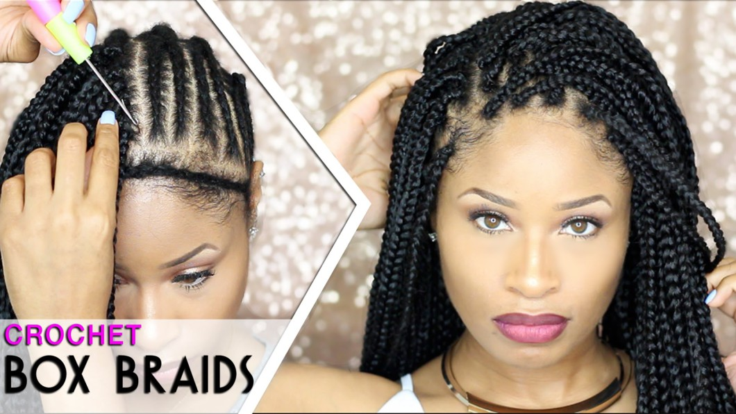 Crochet Hair Edges : How To CROCHET BOX BRAIDS [Video] - Black Hair Information