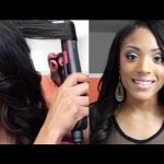 How to Curl your hair with Flat Iron/Straightener [Video]