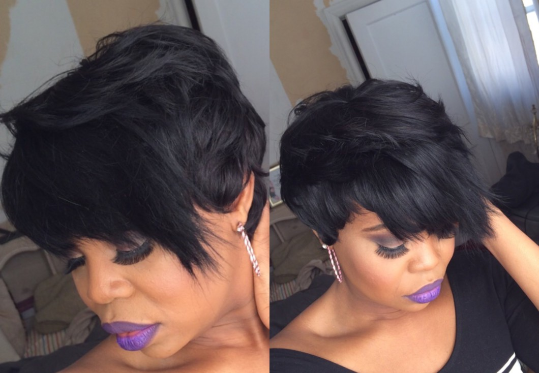 HOW TO: Cut And Style Short Weave [Video]