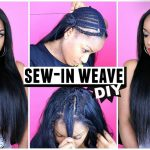 How to Do a Sew-In Weave from Start to Finish! [Video]