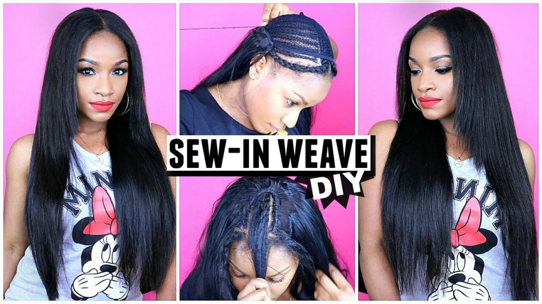 How To Do A Sew-In Weave From Start To Finish! [Video