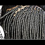 HOW TO DO BOX BRAIDS BOB ONLY (3 HOURS) [Video]