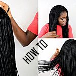 HOW TO DO BOX BRAIDS WIG LIKE A PRO ONLY (5 HOURS) [Video]