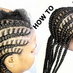 HOW TO DO SIMPLE CORNROW BRAIDS [Video]
