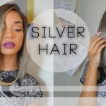 How To Dye Your Wig A Chic Silver Grey With Subtle Colored Highlights