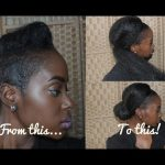 How To Fake A Ponytail/Low Bun on a Short Haircut [Video]