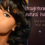 How To Get Short Natural Hair Bone Street Without Heat Damage [Video]