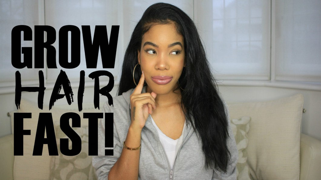 how to grow natural black hair long and fast