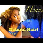 How To: Henna On Long Natural Hair