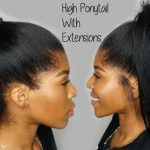 How To: High Ponytail With Clip Extensions [Video]