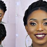 How To: Jumbo Front Twist Updo on Short Hair [Video]