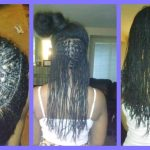 How to re-do natural mini braids for long term protective styling [Video]