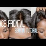 How To Sew In Your Lace Frontal – NO HAIR OUT [Video]