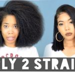 How To | Straighten Curly hair (Flat Iron Routine Curly To Straight) [Video]
