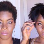 How to Straighten Short Kinky Hair 4A, 4B, 4C , 4Z Type Hair [Video]