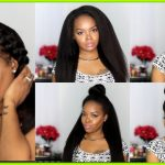 How To Style A Kinky Straight Wig [Video]