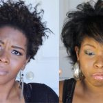 How Wen Works on 4C Hair/Twist out Using Wen By Brandiejeanette
