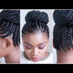 JUMBO CORNROWS | WATCH ME GET MY HAIR DONE [Video]