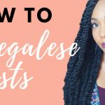 Jumbo Senegalese Twists On Natural Hair [Video]