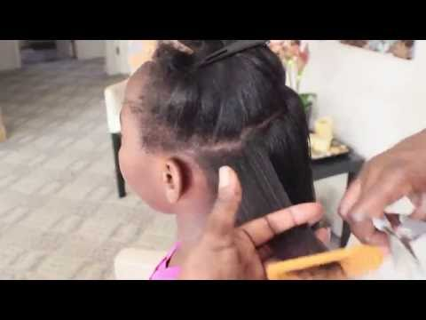 Clipping Ends On Natural Hair