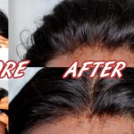 Lace Frontal | How to Pluck/Customize to 100% Natural looking