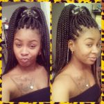 Large Box braids (Poetic Justice braids)
