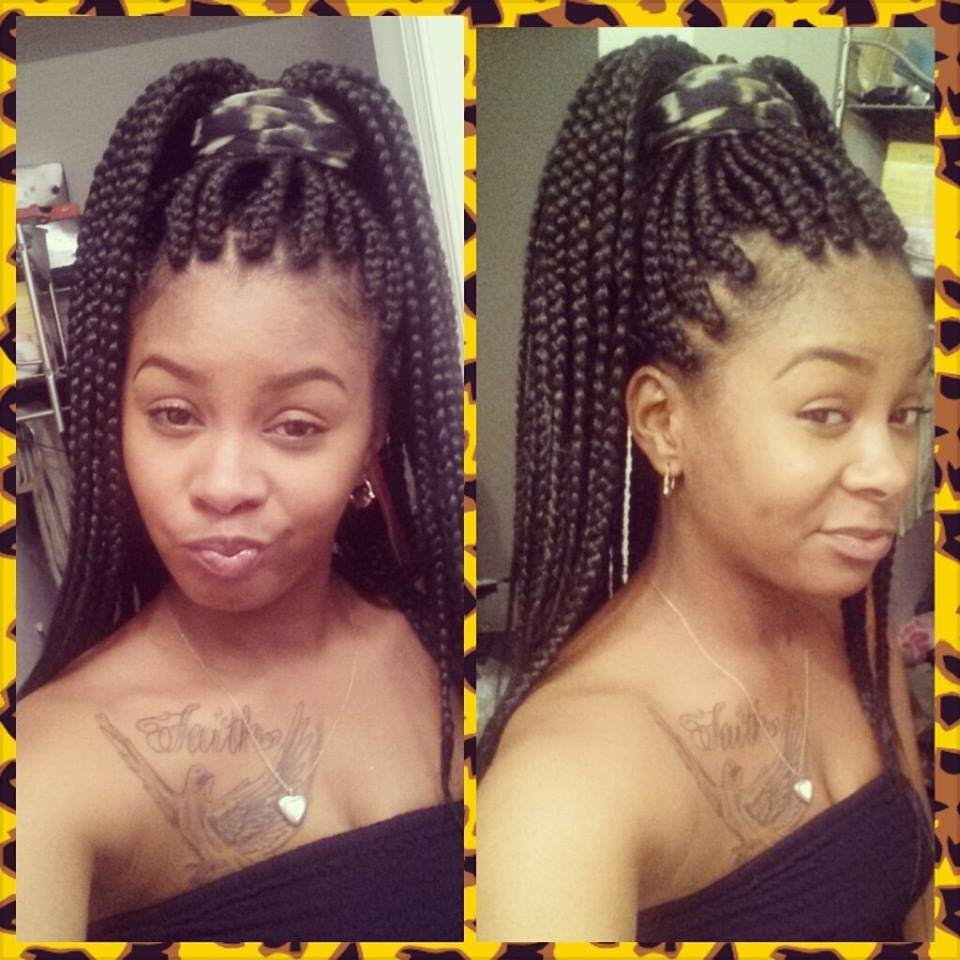 large box braids (poetic justice braids) - black hair information