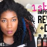 Liquid Hair Chalk on Natural Hair [Video]