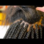 Loose Box Braids With Feather Tips [Video]