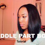 Middle Part Bob Tutorial [Video]