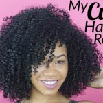 My curly hair routine! [Video]