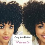 My Curly Hair Routine | Wash and Go [Video]