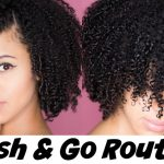 My Most Defined Wash & Go Routine [Video]