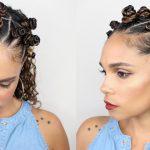 Natural Hair: Bantu Knot Hairstyle